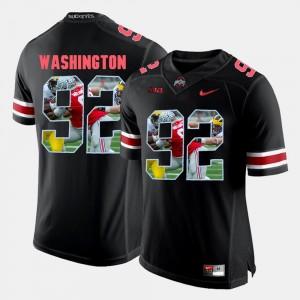 Adolphus Washington OSU Jersey Pictorial Fashion Black Mens #92 722278-690