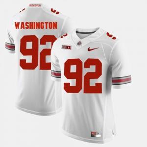 Alumni Football Game #92 Mens Adolphus Washington OSU Jersey White 803972-562