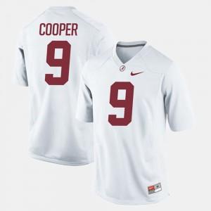 Amari Cooper Alabama Jersey Kids Alumni Football Game White #9 409537-453