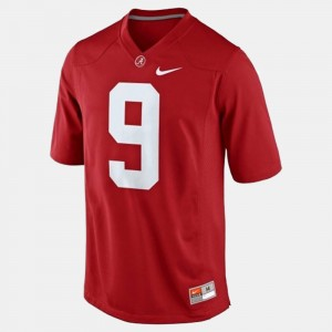 College Football Red For Men Amari Cooper Alabama Jersey #9 844175-541