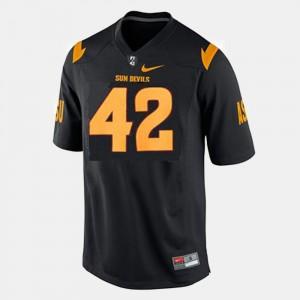 College Football Pat Tillman ASU Jersey Kids Black #42 509250-381