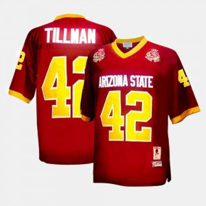 Pat Tillman ASU Jersey College Football For Kids Red #42 251100-909