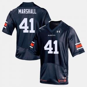 Mens #41 Aidan Marshall Auburn Jersey College Football Navy 840941-836