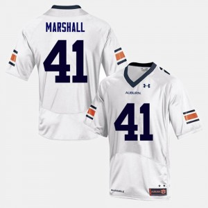 White College Football For Men #41 Aidan Marshall Auburn Jersey 885148-111