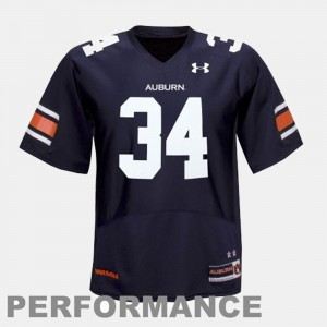 #34 Blue Bo Jackson Auburn Jersey College Football Mens 822065-613