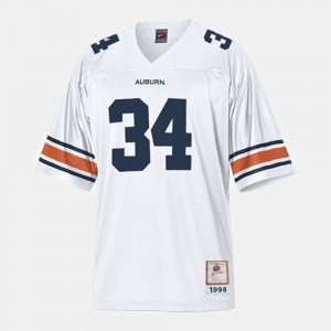College Football Mens #34 Bo Jackson Auburn Jersey White 983452-413