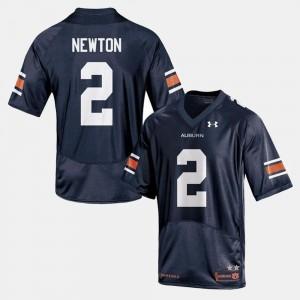 Men's Cam Newton Auburn Jersey Navy #2 College Football 848621-842