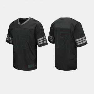 Black #17 For Men Baylor Jersey College Football 969622-639