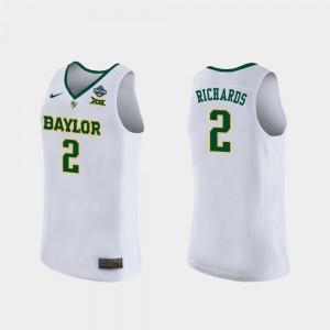 2019 NCAA Women's Basketball Champions White DiDi Richards Baylor Jersey For Women #2 697067-522