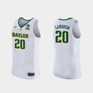 White 2019 NCAA Women's Basketball Champions Women Juicy Landrum Baylor Jersey #20 417845-665