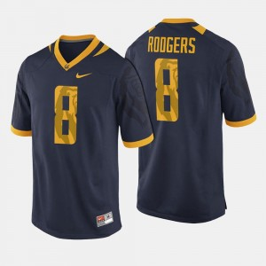 Mens Navy College Football #8 Aaron Rodgers Cal Bears Jersey 787780-376