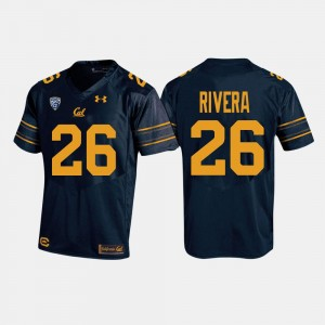 Bug Rivera Cal Bears Jersey College Football Navy For Men #26 412409-674