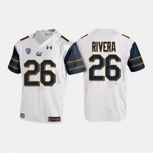 White College Football Mens #26 Bug Rivera Cal Bears Jersey 943456-770