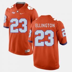 For Men #23 Orange Andre Ellington Clemson Jersey College Football 887961-316