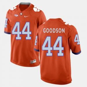 #44 Orange College Football B.J. Goodson Clemson Jersey Mens 219141-685