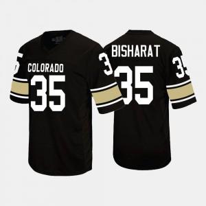 College Football For Men #35 Beau Bisharat Colorado Jersey Black 325025-866