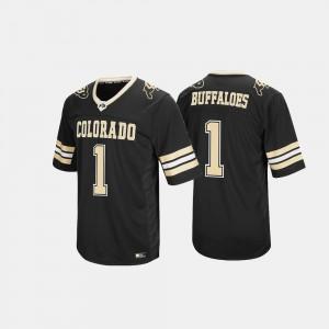 Colorado Jersey Hail Mary II Men's Black #1 552857-311
