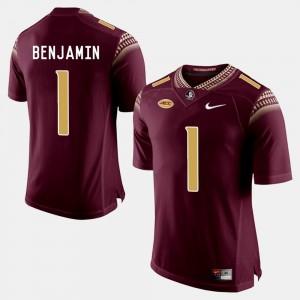 Garnet College Football BKelvin Benjamin FSU Jersey #1 Mens 763961-140