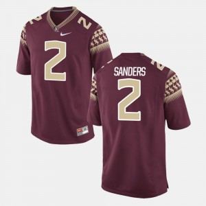 Garnet Deion Sanders FSU Jersey Alumni Football Game Mens #2 437803-308