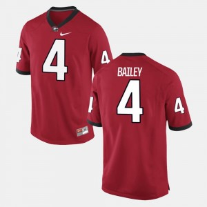 Champ Bailey UGA Jersey Alumni Football Game Red #4 For Men 654857-367