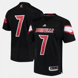#7 Louisville Jersey Mens 2017 Special Games Black 224460-835