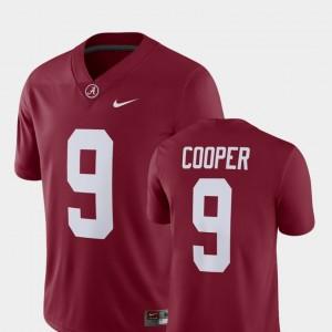 Alumni Football Game Player #9 Mens Amari Cooper Alabama Jersey Crimson 588210-422