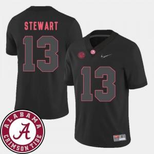 ArDarius Stewart Alabama Jersey Black Mens 2018 SEC Patch College Football #13 597847-191