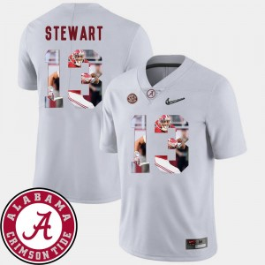 ArDarius Stewart Alabama Jersey Football For Men's Pictorial Fashion #13 White 993715-563