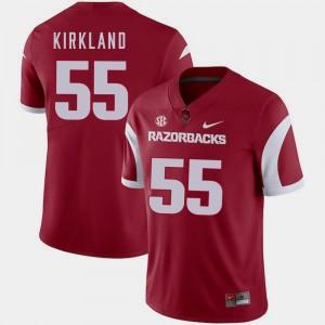 Cardinal #55 Men College Football Denver Kirkland Arkansas Jersey 582705-583