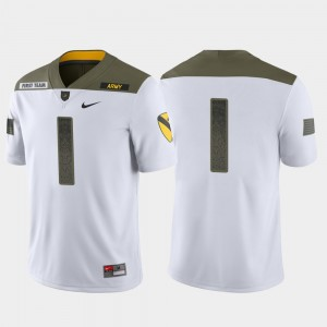 Men Army Jersey White Limited Edition #1 1st Cavalry Division 933996-469