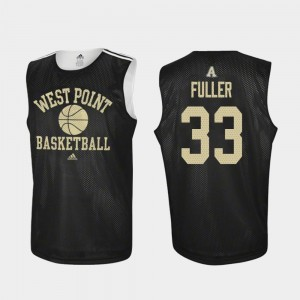 Cam Fuller Army Jersey #33 College Basketball For Men Black Practice 208199-264