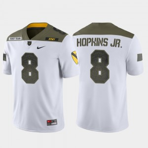 #8 1st Cavalry Division Men Kelvin Hopkins Jr. Army Jersey Limited Edition White 416384-978