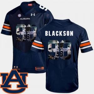 Navy Football Angelo Blackson Auburn Jersey #98 For Men Pictorial Fashion 313968-464