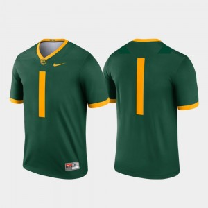 Men College Football Baylor Jersey Legend Green #1 587571-849