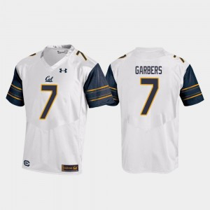 Chase Garbers Cal Bears Jersey College Football #7 Replica Men White 113768-356