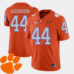 2018 ACC Men #44 Orange B.J. Goodson Clemson Jersey College Football 168305-917