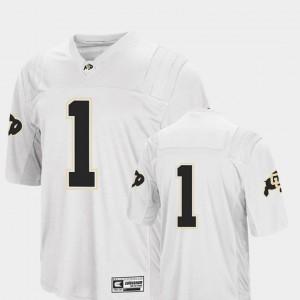 Colosseum 2018 For Men Colorado Jersey White College Football #1 809809-397