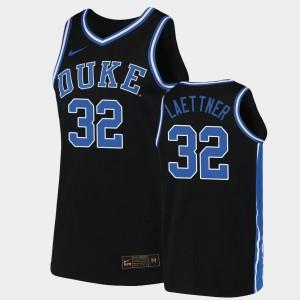 Replica 2019-20 College Basketball Christian Laettner Duke Jersey Men's Black #32 237329-932