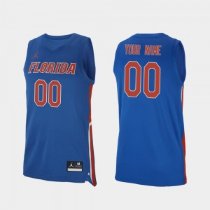 Replica #00 Royal Men's Gators Custom Jerseys 2019-20 College Basketball 673236-632