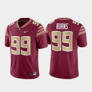 Brian Burns FSU Jersey #99 Mens Alumni Football Game Garnet 727331-912