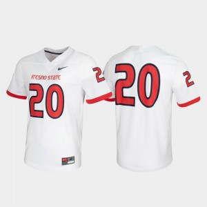 Game White For Men's Fresno State Jersey Untouchable #20 560288-593