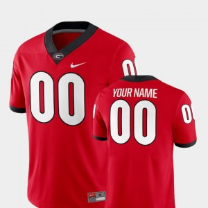 2018 Game Red UGA Customized Jersey College Football For Men #00 913856-944