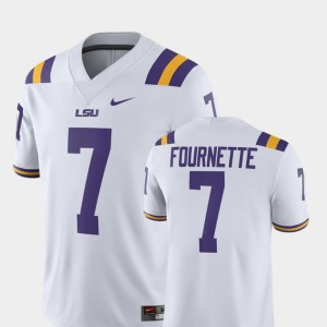 Men's Player White Leonard Fournette LSU Jersey #7 Alumni Football Game 858939-358