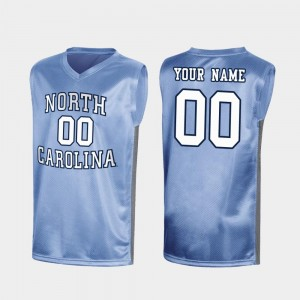 #00 March Madness Special College Basketball UNC Customized Jerseys Royal Mens 479162-154