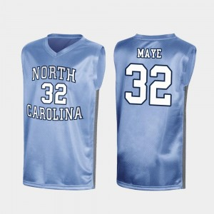 Special College Basketball Men's March Madness #32 Luke Maye UNC Jersey Royal 157315-619