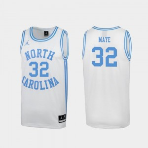 March Madness Special College Basketball White For Men's Luke Maye UNC Jersey #32 656305-849