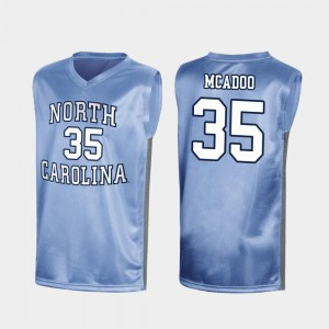 Ryan McAdoo UNC Jersey Royal March Madness Special College Basketball For Men #35 224902-117