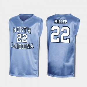 Royal For Men's Walker Miller UNC Jersey Special College Basketball #22 March Madness 968572-434