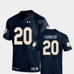 C'Bo Flemister Notre Dame Jersey Replica #20 Navy Men College Football 993115-818