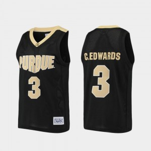 Alumni Carsen Edwards Purdue Jersey For Men Purdue Boilermaker Basketball Black #3 274506-153